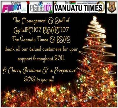 Christmas greetings from vanuatu hospitality businesses vanuatu tourism office m4hsunfo
