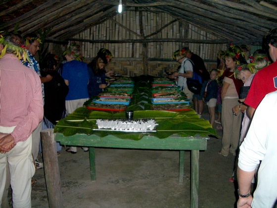 Kava tasting is part of Melanesian Feast