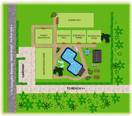 Worawia resort floor plan
