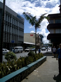 Bank buildings in Port Vila